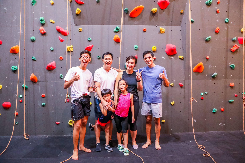 Rock Climbing Singapore